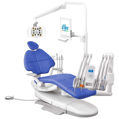A-dec 500 Dental Chair Radius