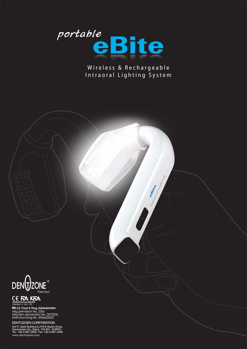 Intra Oral Light Source Portable Ebite Alldent