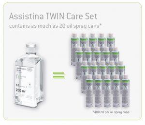 W&H Assistina Twin Care Set