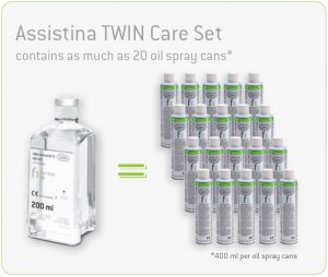 W&H Assistina Twin Care Set