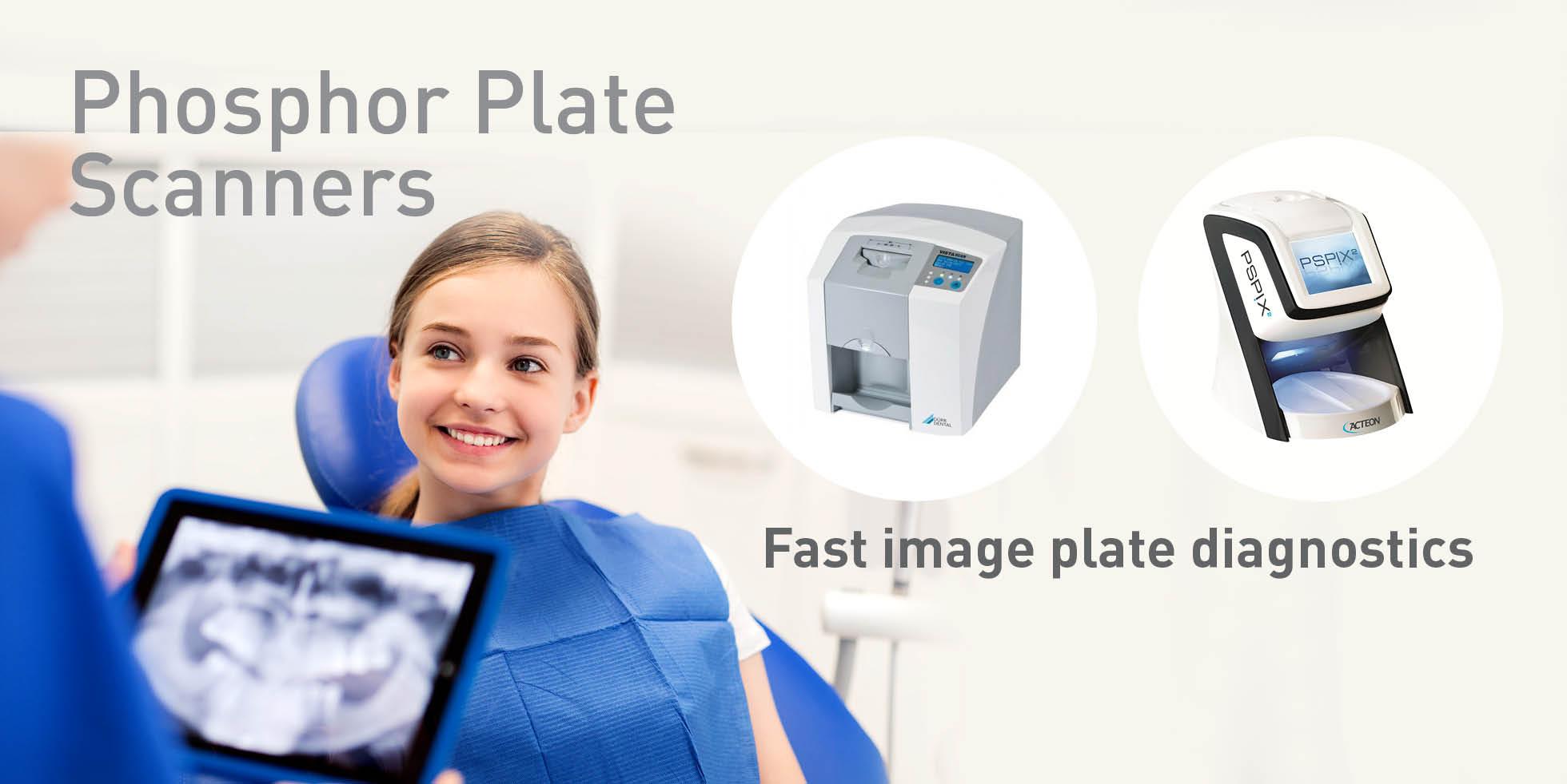 Phosphor Plate Scanners