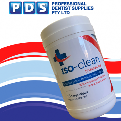 PDS Iso -clean wipes