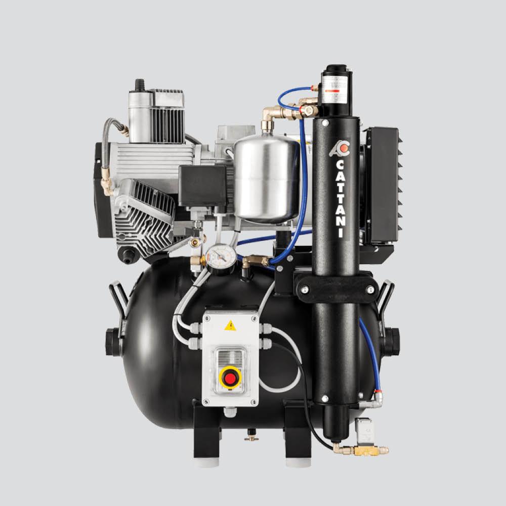Cattani Oil Free Compressor